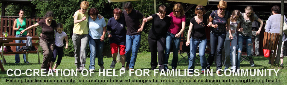 Co-creation of help for families in community